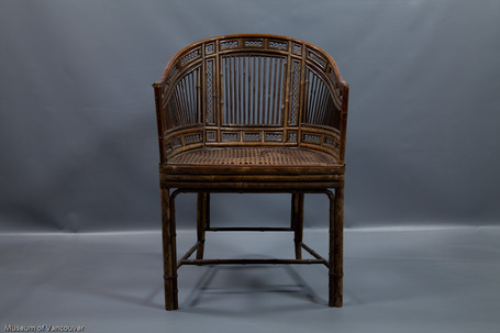 Frances Barkley's chair