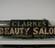 Image - Clarke's Beauty Salon neon sign, c.1930-1950