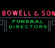 Image - Bowell Funeral Home neon sign, c. 1955-1960